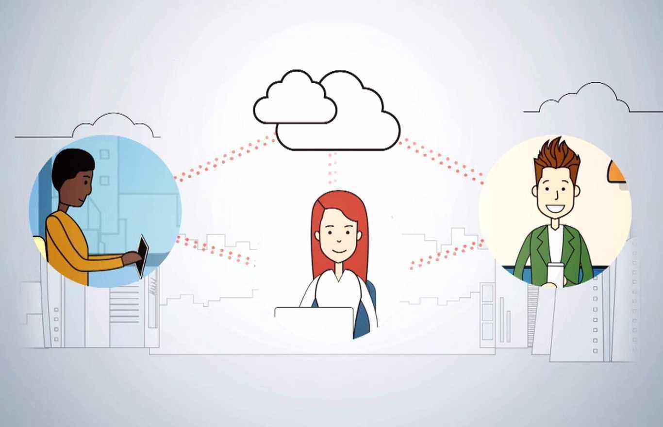 2d animation internal communication