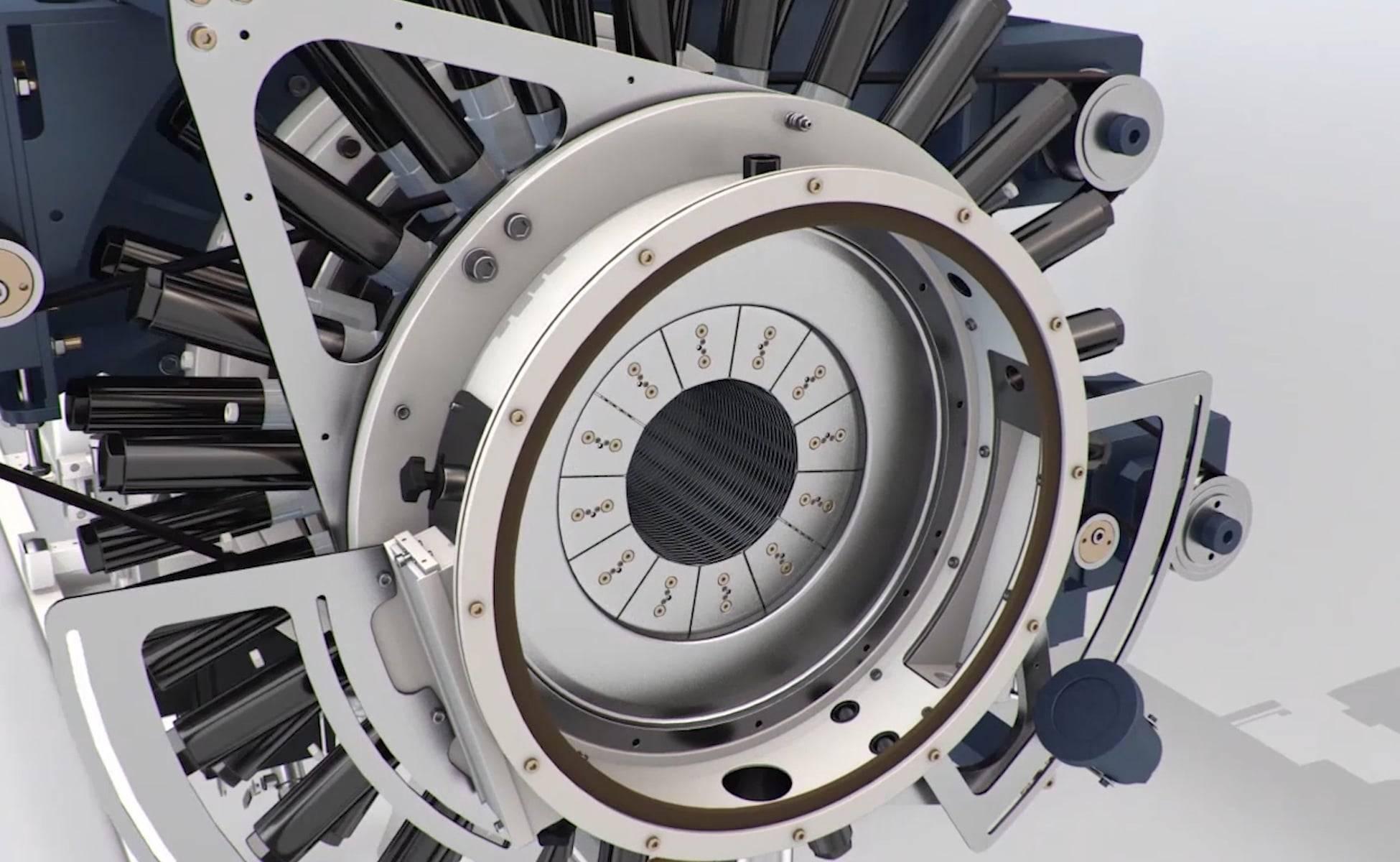 3D animation machine